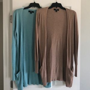 Mossimo cardigans